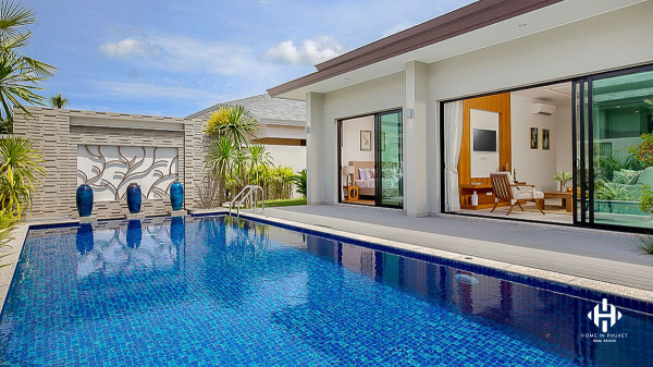 Tranquil 3-Bed Pool Villa near Layan beach