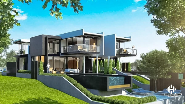 Modern 4-Bed Pool Villa in Rawai