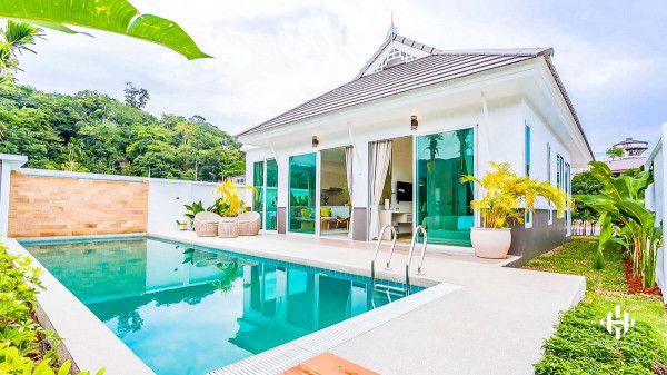 Elegant 3-Bed Pool Villas in Kamala