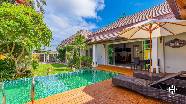 Charming 3-Bed Pool Villa in Rawai