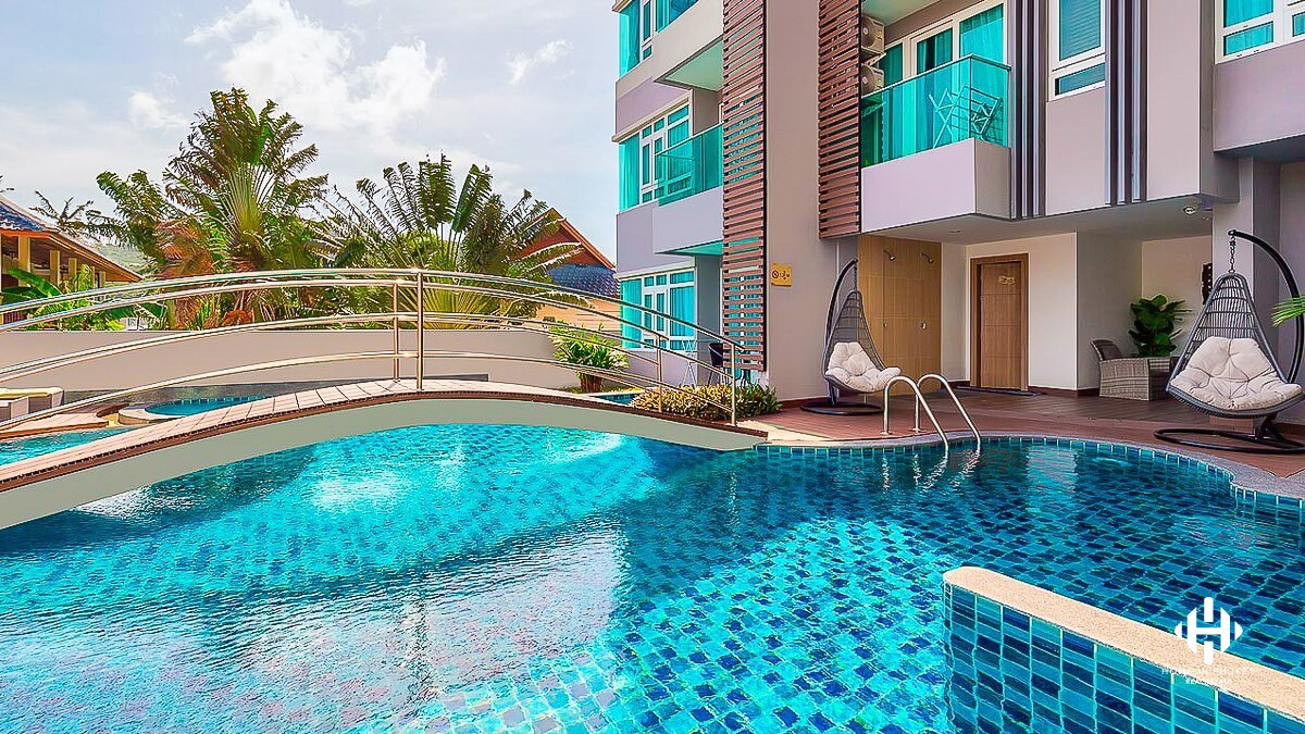 A comfort 1 bedroom close to Naiharn Beach