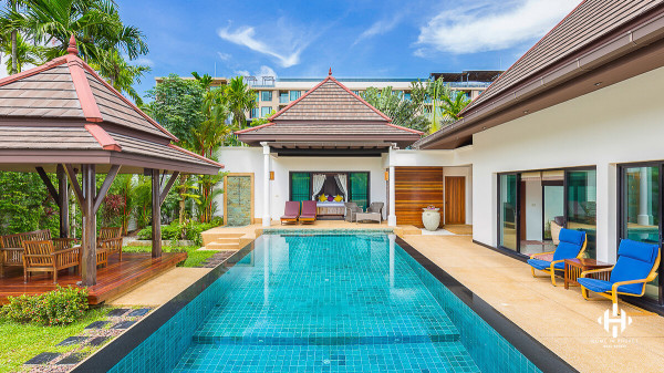 Balinese Pool Villa near Surin Beach