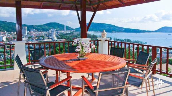 Stunning 5-Bed Sea View Pool Villa on Patong Hill
