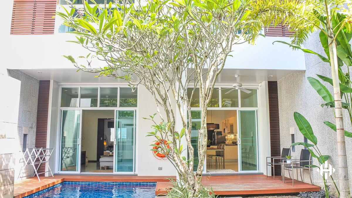 Modern 3-Bed Pool Residence in Bangtao