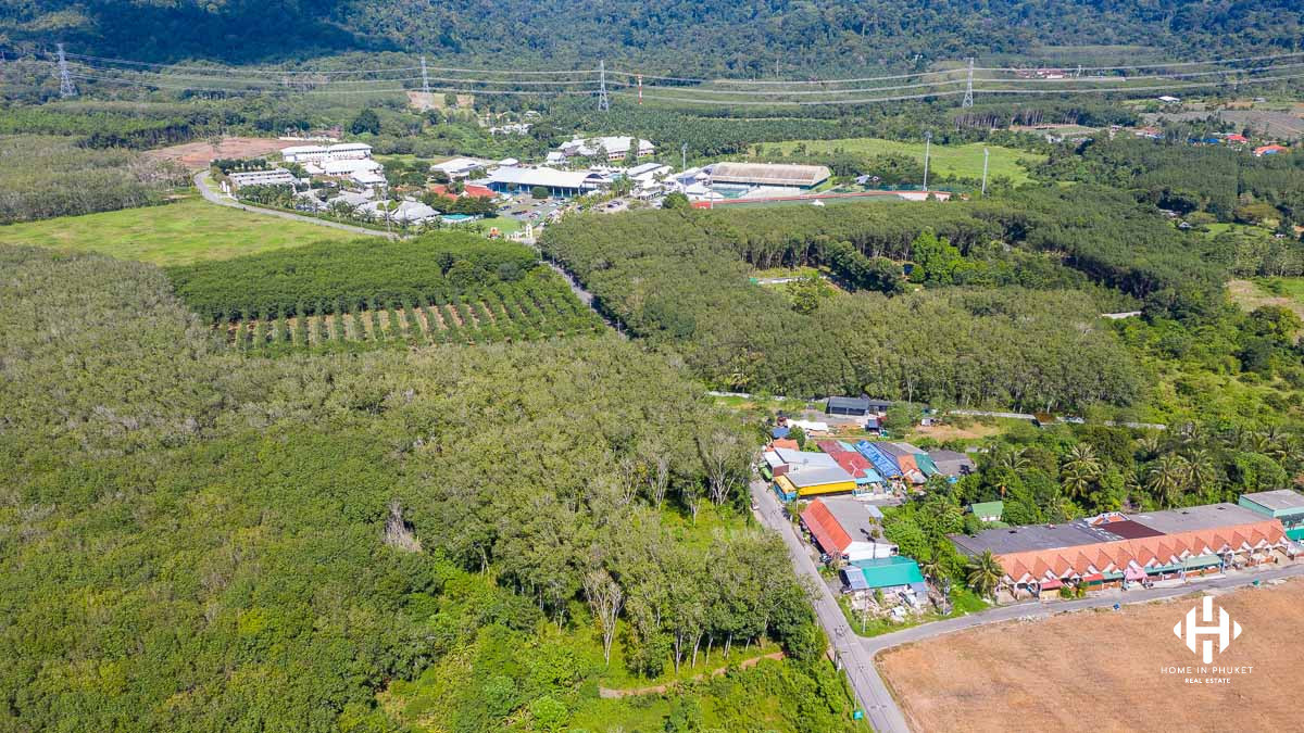 9.5 Rai Land Plot near Thanyapura Resort