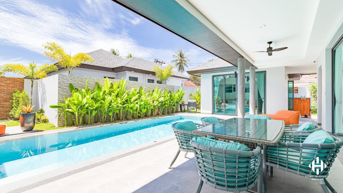 Stylish Villa with Pool in Cherngtalay