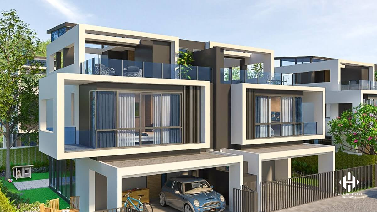 Contemporary Townhomes in Laguna