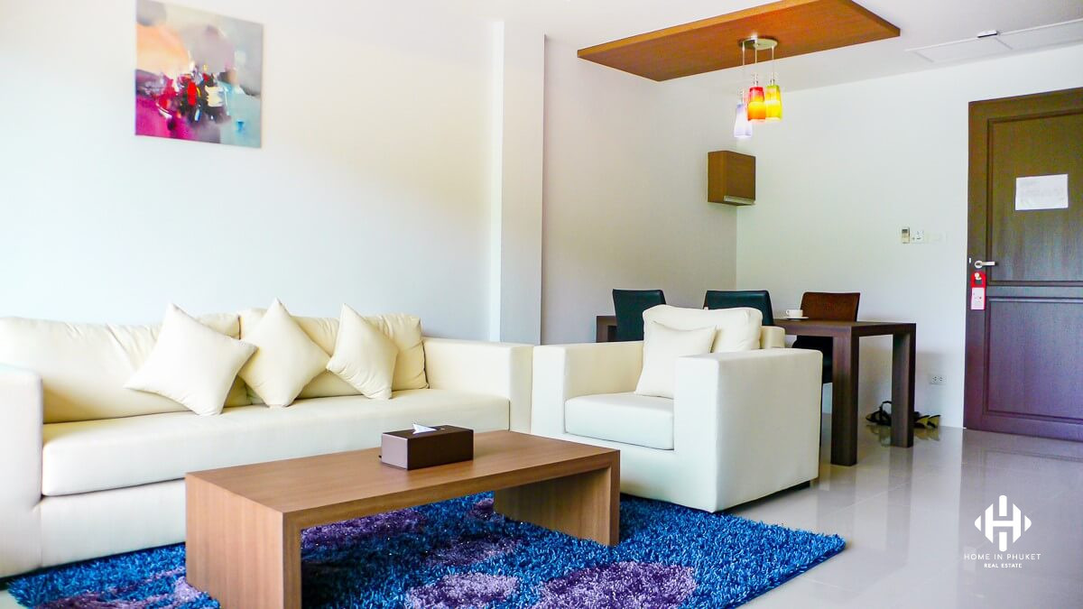 Spacious 1-Bed Condo near Bangtao Beach