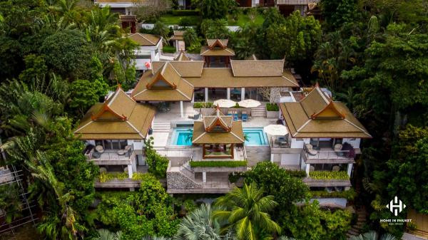 Magnificent 4-Bed Sea View Villa near Surin Beach