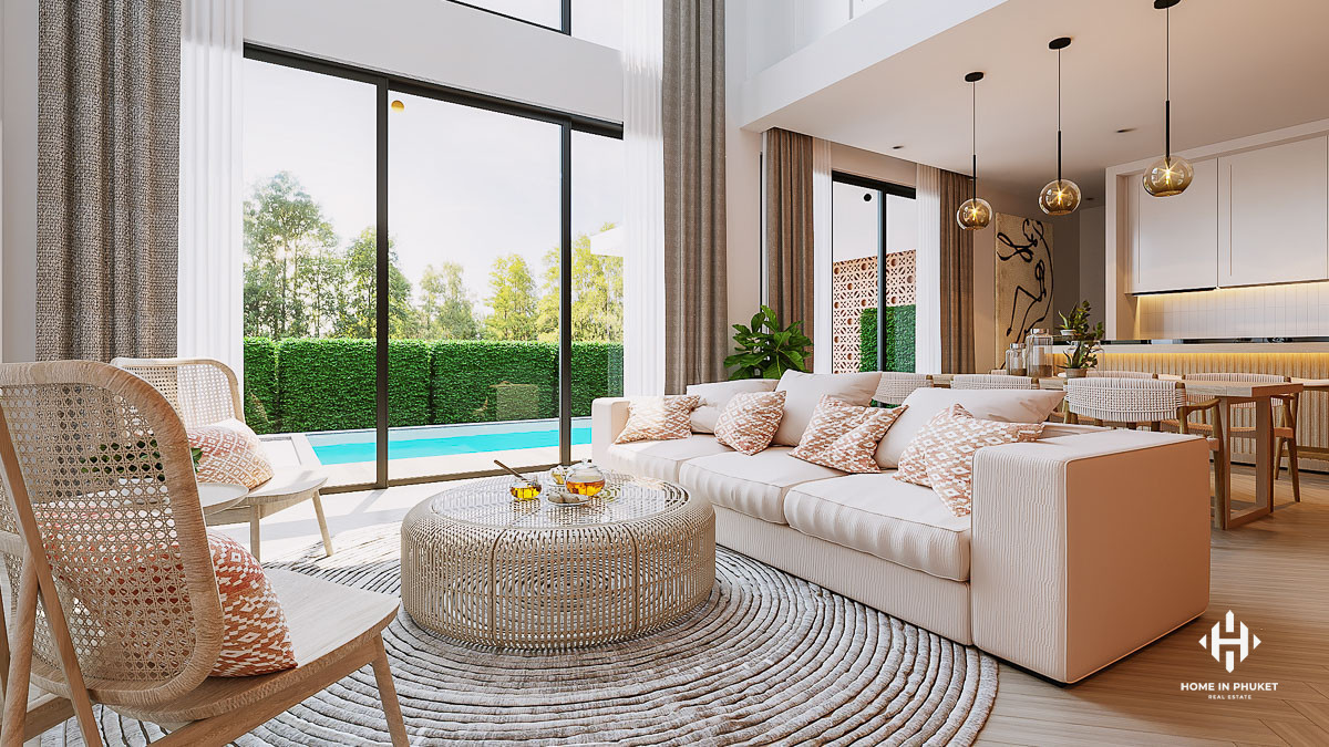 Stylish and Affordable Contemporary Pool Villas