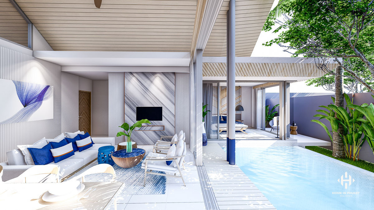 Contemporary Tropical Pool Villas in Paklok