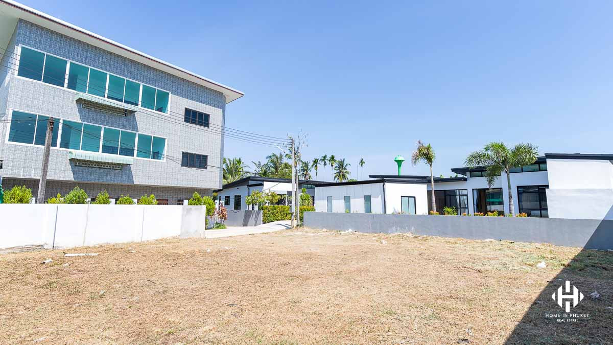 Flat Land in Cherngtalay