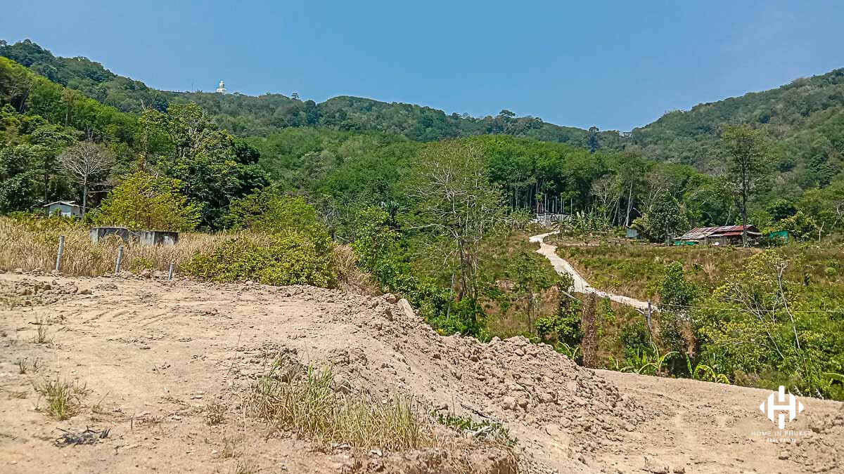 Small Land Plot in Chalong