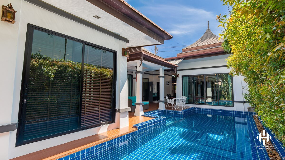 Tropical 3 Beds Pool Villa near Chalong