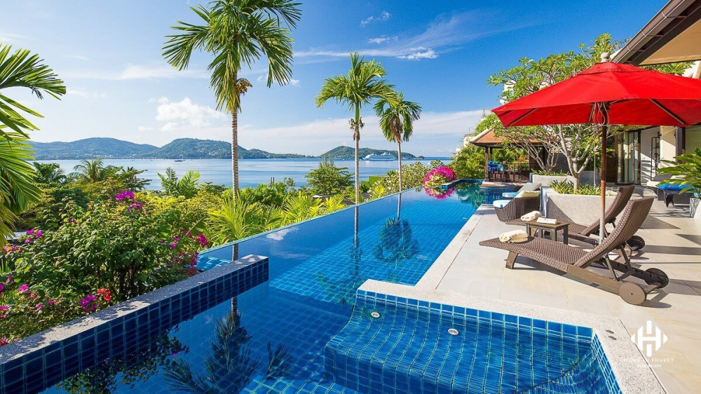 4-Bed Sea View Villa near Patong Beach