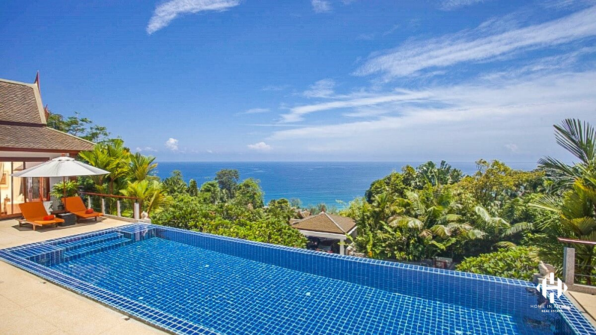 Fabulous 4-Bedroom Sea View Pool Villa