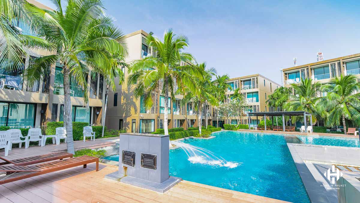 Single Bed Condo near Panwa Beach