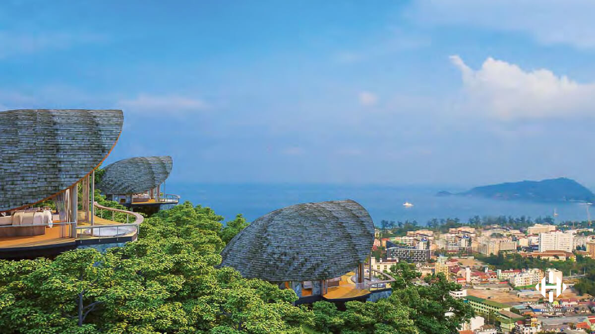 Magnificent Sea View Residences in Patong