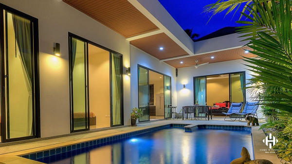 Gorgeous 3-Bed Pool Villa in Rawai