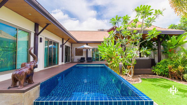 Spotless 3-Bed Tropical Villa in Nai Harn