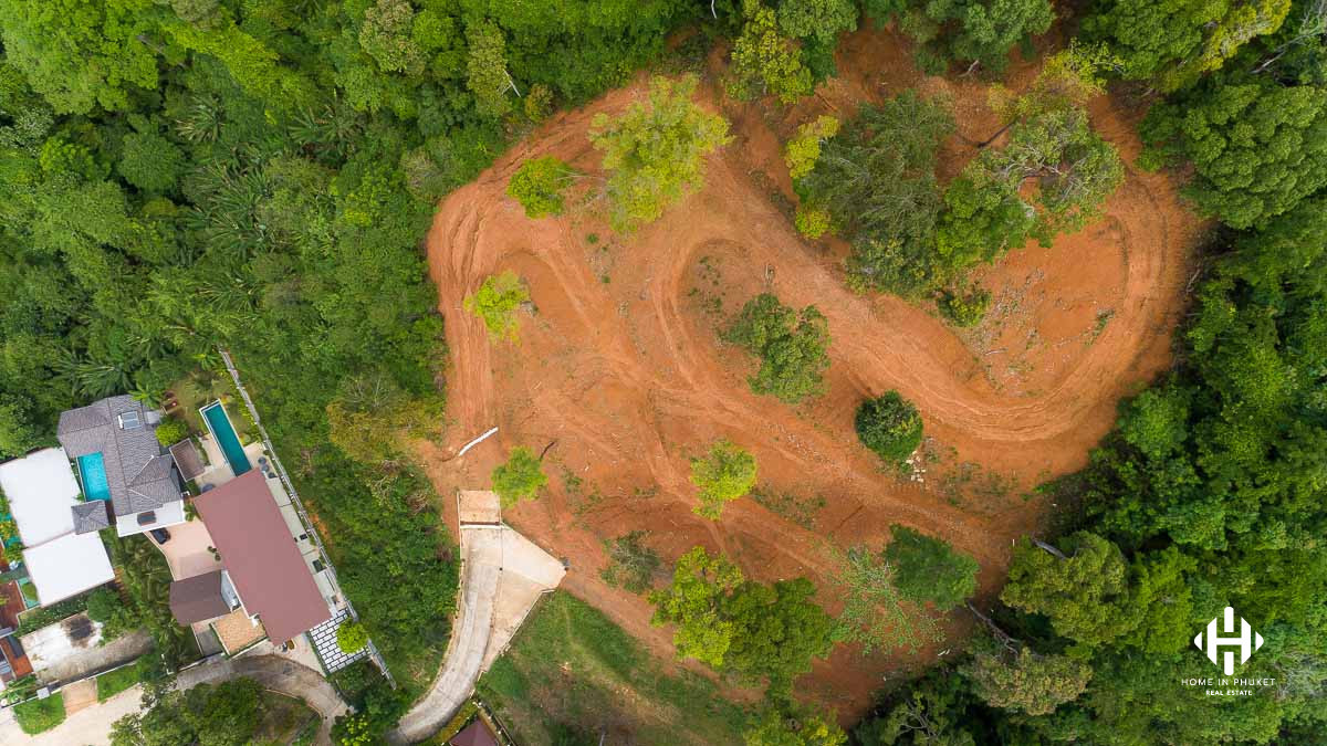 Hillside 4 Rai Land Plot in Kathu