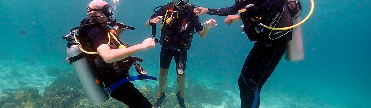 Learning to Dive in Phuket
