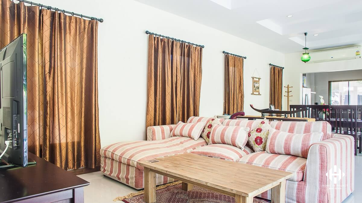Fully Furnished 3 Beds Villa in Rawai