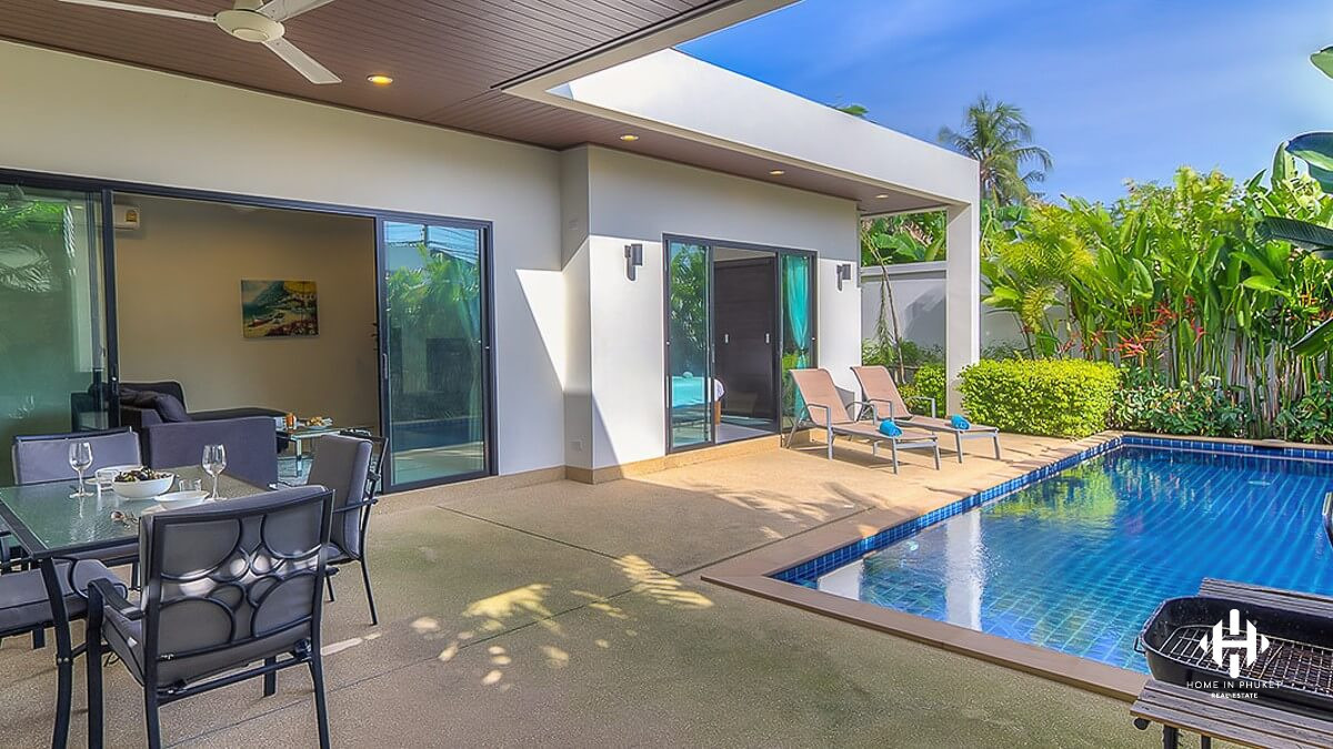 Cozy 2 Beds Pool Villa in Rawai