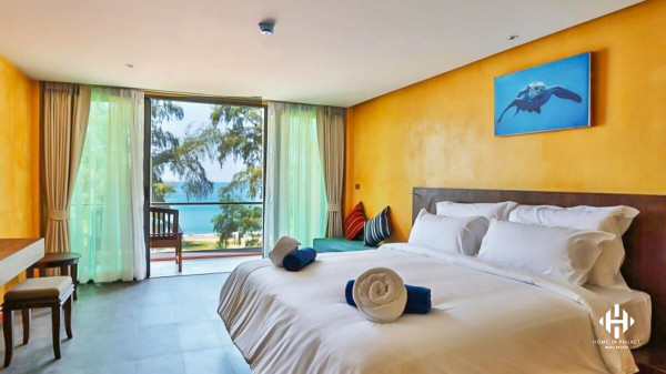 Maikhao Beachfront Resort with 41 Rooms
