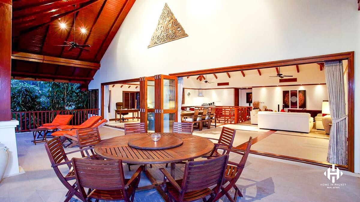 Luxurious Peaceful Villa on Patong Cliff