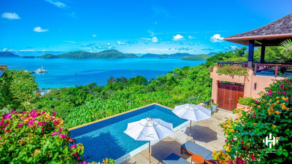 Superb Ocean View Villa at Cape Panwa