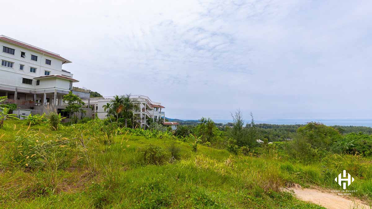 9 Rai Sea View Land Plot in Layan