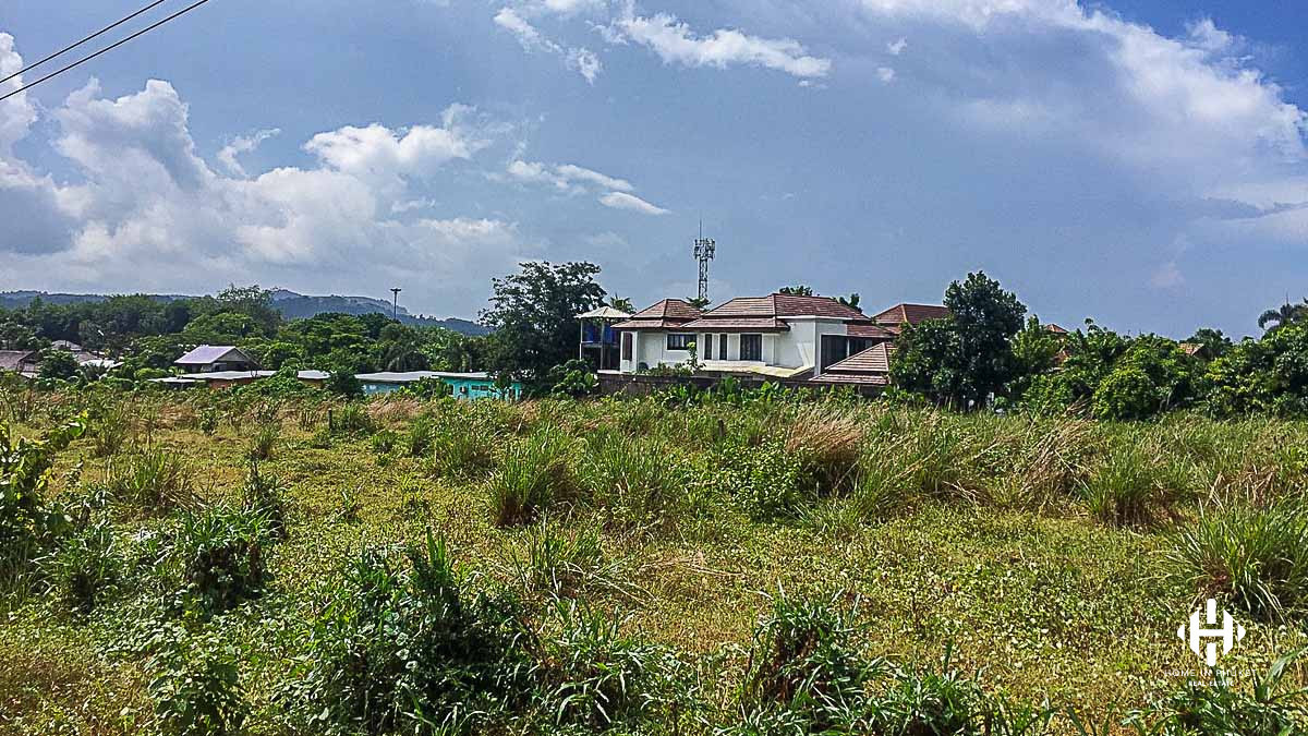 Good size land plot in Cherngtalay