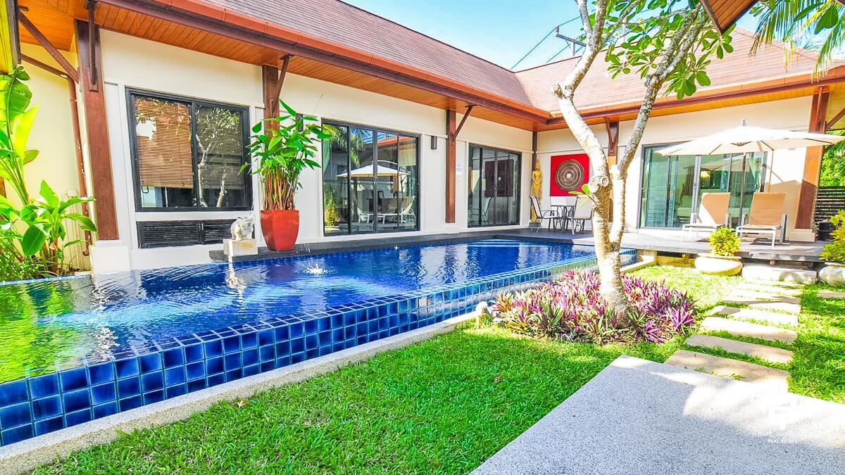 Tropical 3-Bed Villa in Rawai
