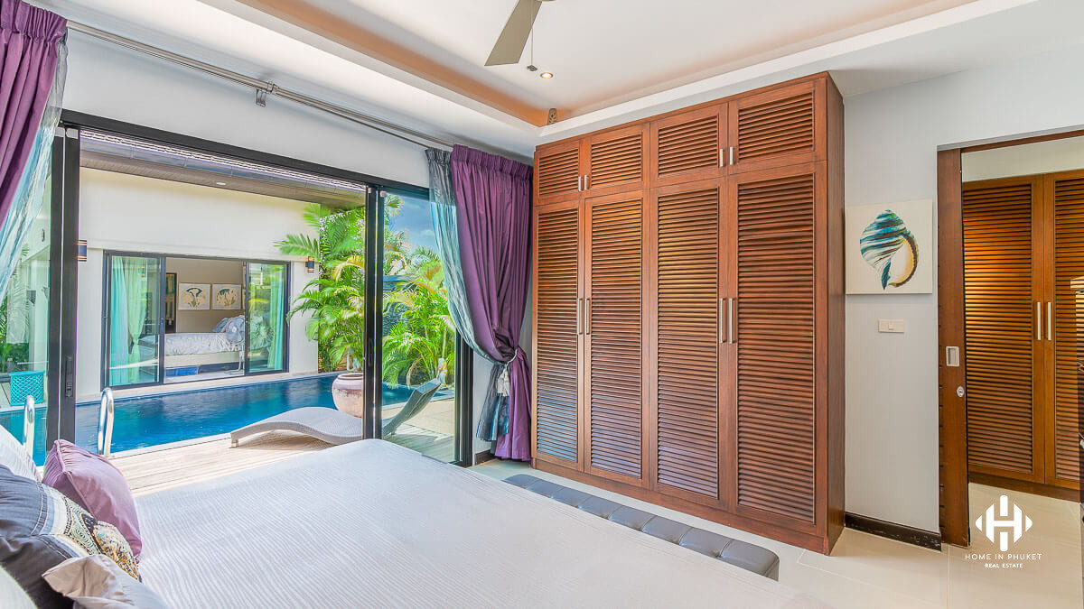 Prestigious tropical 3Bed villas in Layan