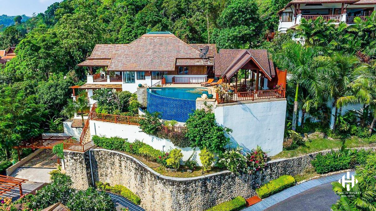 Luxurious Sea View Villa on Patong Hillside