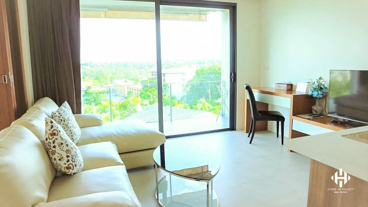 Modern Sea View Apartment in Rawai