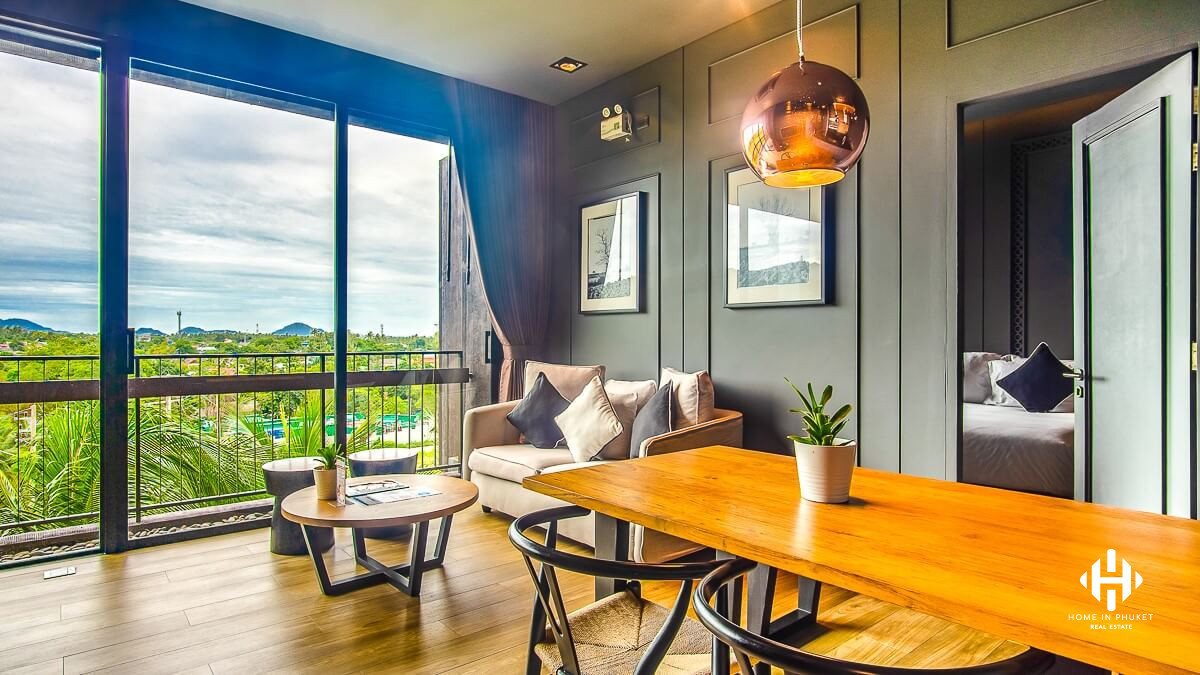 Freehold 2-Bedroom Condo in Rawai