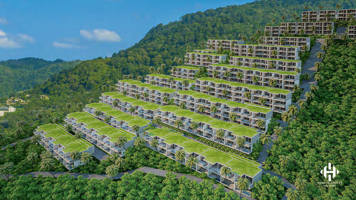 Spectacular Sea View Condo in Patong