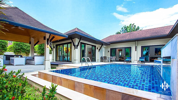 Wonderful 3-bed Pool Villa in Layan