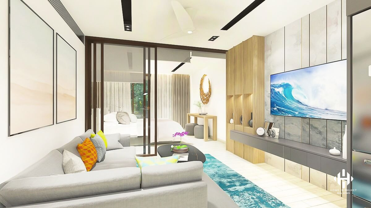 Stylish Contemporary Condos near Bangto Beach