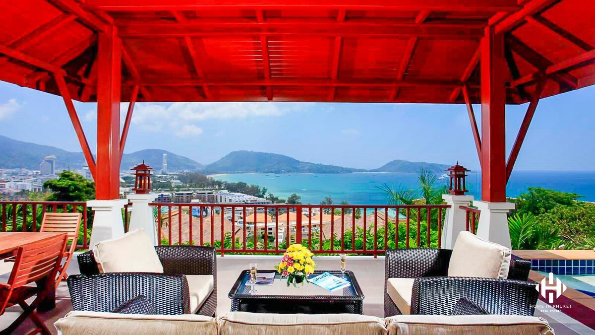 Hill Nestled Pool Villa near Patong