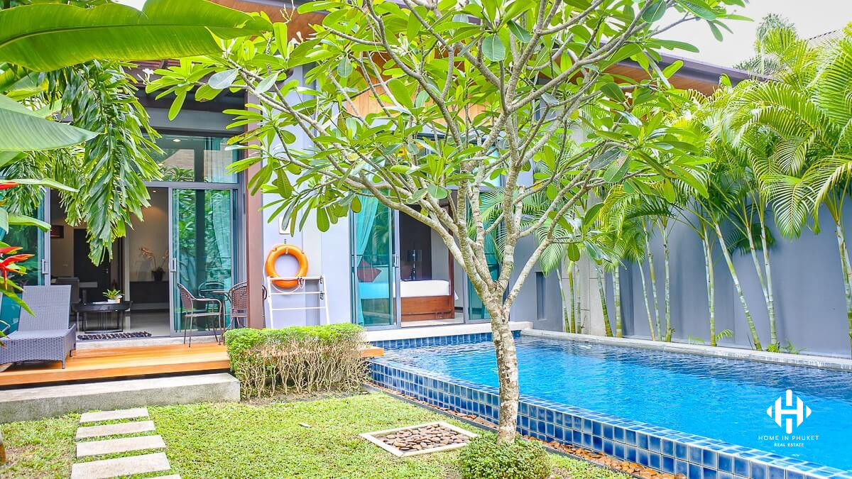 2 Beds VIlla with Pool in Rawai