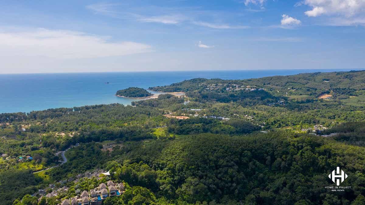 Huge 32 Rai Land Plot in Layan