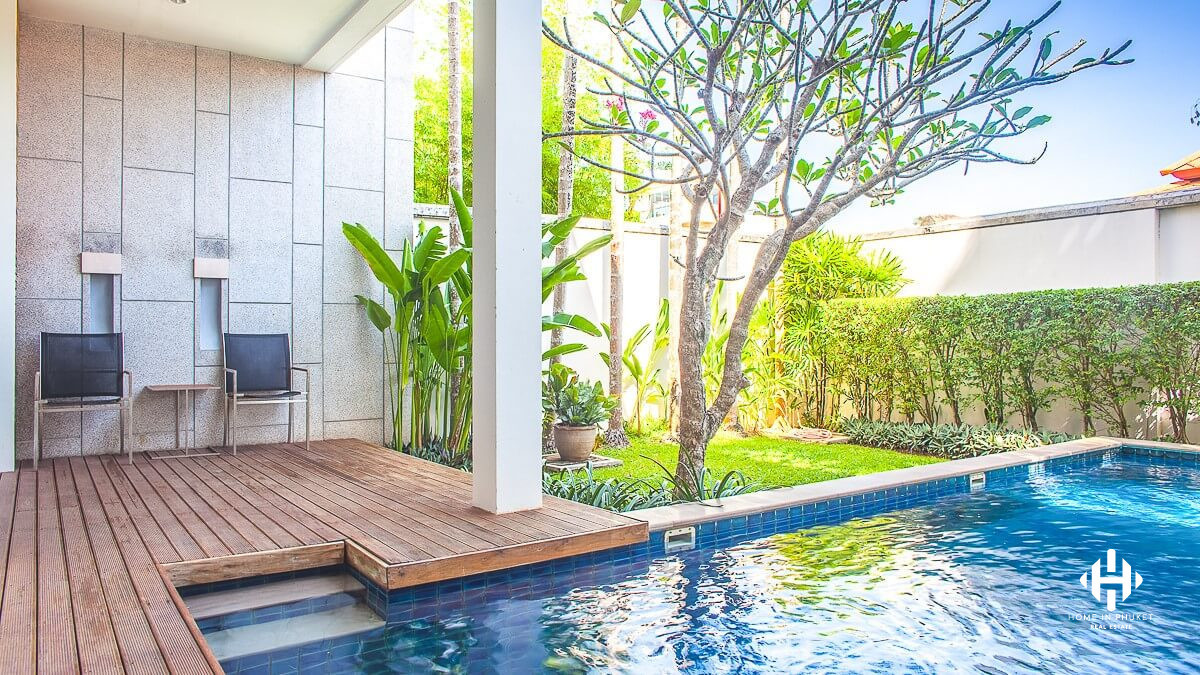 2-Bed Pool Residence in Rawai