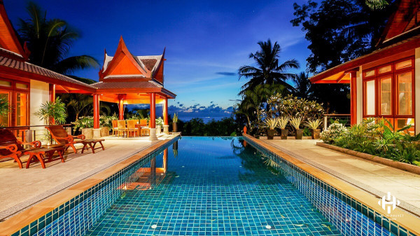 Thai Luxury Sea View Villa at Surin Beach