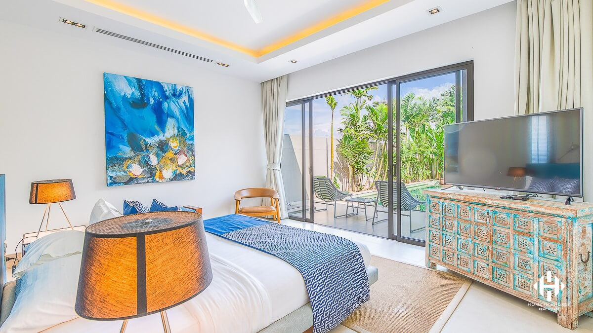 Modern 2 Beds Tropical Villa in Cherngtalay
